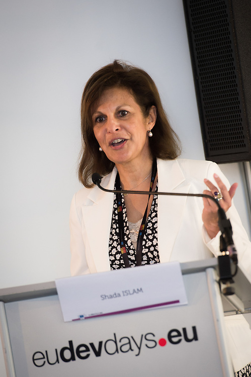 03 June 2015 - Belgium - Brussels - European Development Days - EDD - Inclusion - Building a caring world-A common challenge for Europe and emerging countries - Shada Islam ,  Director of Policy , Friends of Europe © European Union