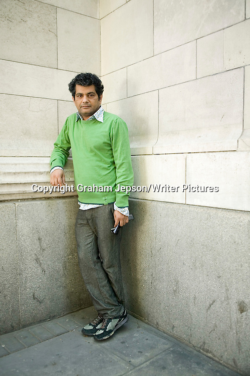 Mohammed Hanif<br /> <br /> copyright Graham Jepson/Writer Pictures<br /> contact +44 (0)20 822 41564<br /> info@writerpictures.com<br /> www.writerpictures.com