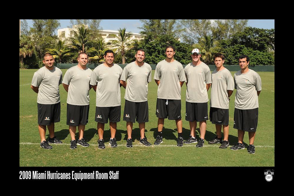 2009 Miami Hurricanes Football Photo Day