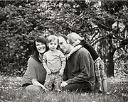 Eric Levine Family Portrait