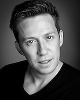 Tam Ryan Opera house favourite Actor Headshot in Black and White