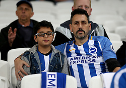 Brighton & Hove Albion fans in the stands