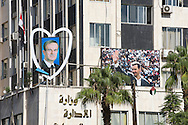 Posters of President Assad Senior and Junior