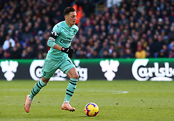 October 28, 2018 - London, England, United Kingdom - London, England - October 28, 2018.Mesui Ozil of Arsenal .during Premier League between Crystal Palace and Arsenal at Selhurst Park stadium , London, England on 28 Oct 2018. (Credit Image: © Action Foto Sport/NurPhoto via ZUMA Press)