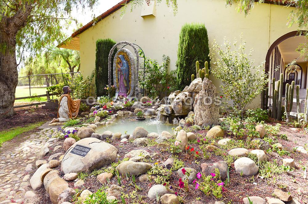 Shrine at Old Mission Santa Ines