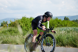 Lauren Stephens (USA) at Emakumeen Bira 2018 - Stage 2, a 26.6 km time trial from Agurain to Gasteiz, Spain on May 20, 2018. Photo by Sean Robinson/Velofocus.com