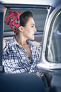 A Rockabilly shoot I did a while back at the rooftop Drive-In of Menlyn Park shopping centre wher they have these classic cars that you can rent for the evening to watch the movie in.