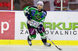Petr Sachl of Tilia Olimpija during ice-hockey match between HD Tilia Olimpija and HK Acroni Jesenice  in 6th Round of EBEL league, on September 26, 2010 at Hala Tivoli, Ljubljana, Slovenia. (Photo By Vid Ponikvar / Sportida.com)