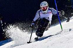 BRAZ-DAGAND Lou, LW10-2, FRA, Slalom at the WPAS_2019 Alpine Skiing World Cup, La Molina, Spain