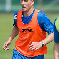 St Johnstone's David Wotherspoon pictured in training...08.07.13<br /> Picture by Graeme Hart.<br /> Copyright Perthshire Picture Agency<br /> Tel: 01738 623350  Mobile: 07990 594431