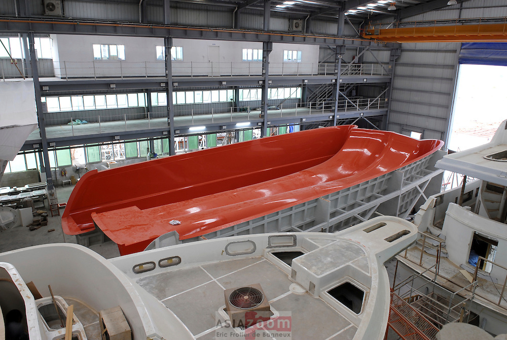 The Sophie 63' mold  in Zuhai