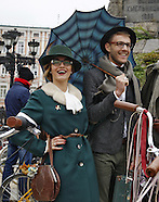 Ukraine: Tweed run in Kiev, 8 Oct. 2016