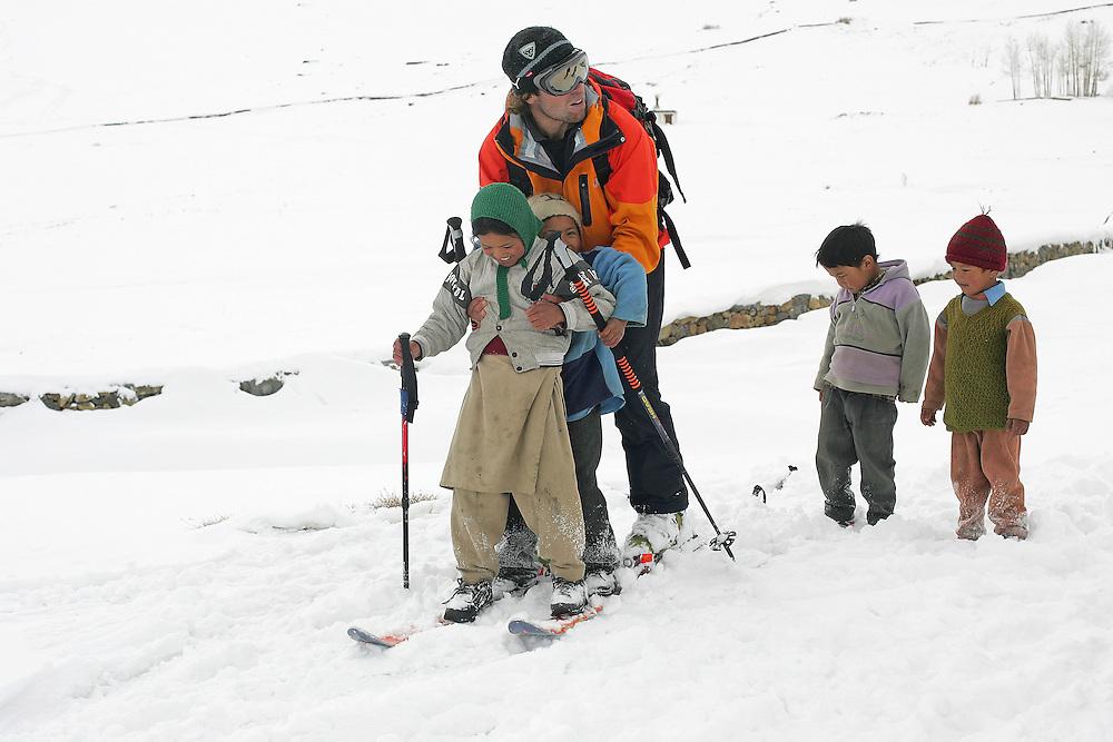 Rider: Seb Collomb-Gros.Location Spiti Valley India