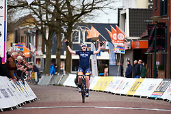 Mieke Kröger (GER) wins Healthy Ageing Tour 2019 - Stage 2, a 134.4 km road race starting and finishing in Surhuisterveen, Netherlands on April 11, 2019. Photo by Sean Robinson/velofocus.com
