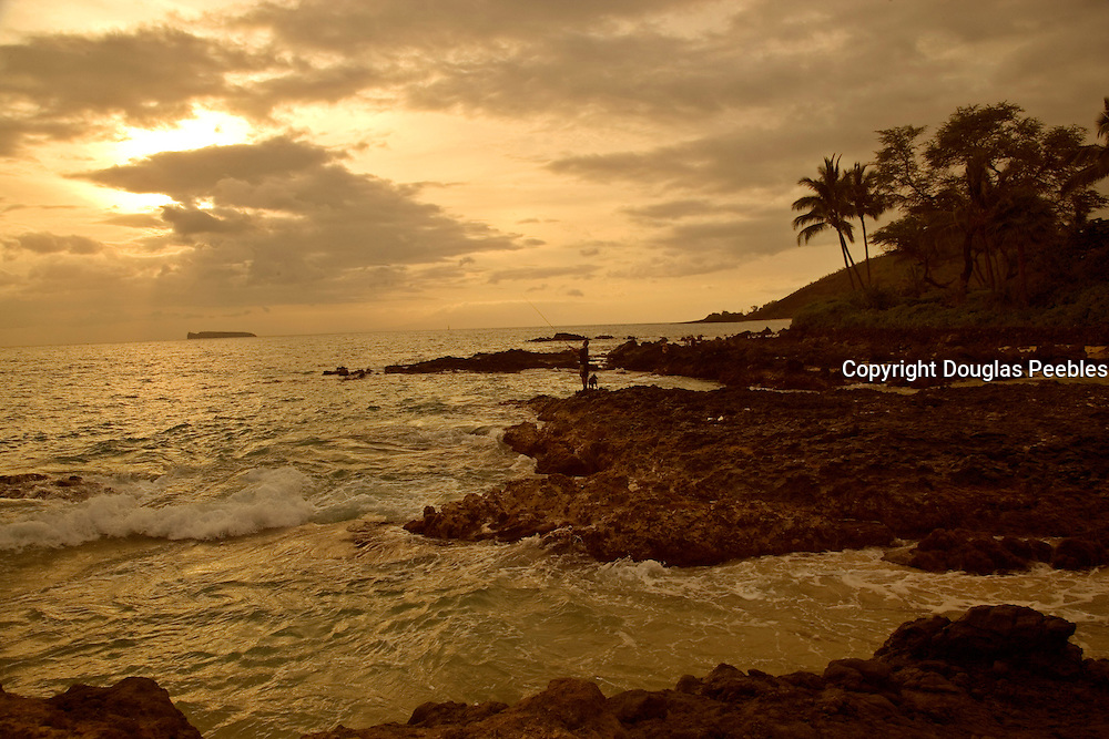 Sunset, Ahini Kinau Preserve, Maui, Hawaii<br />