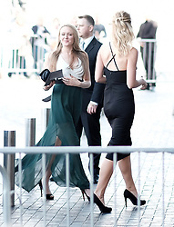 British Soap Awards, Saturday 3rd June 2017<br /> <br /> Stars arrive on the red carpet for the British Soap Awards 2017<br /> <br /> Emily Head from Emmerdale (left) <br /> <br /> (c) Alex Todd | Edinburgh Elite media