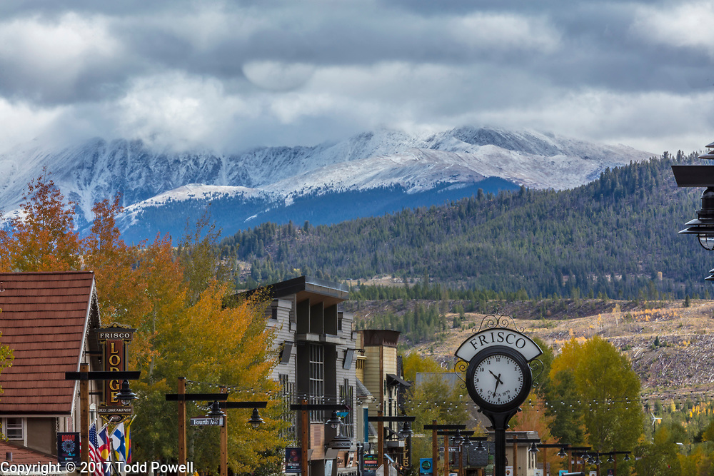 Frisco Main Street, Frisco, Colorado, Fall