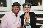 The Chefs, Vendors and Guests of the TASTE Festival of Food, Wine and Spirits relax at the Bahama Breeze Restaurant in King of Prussia, PA.