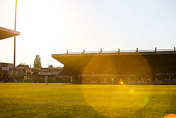 A general view in play at the One Call Stadium, home to Mansfield Town - Mandatory by-line: Ryan Crockett/JMP - 12/05/2019 - FOOTBALL - One Call Stadium - Mansfield, England - Mansfield Town v Newport County - Sky Bet League Two Play-Off Semi-Final 2nd Leg