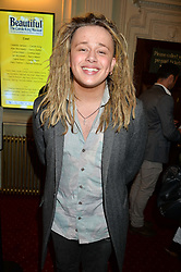 LUKE FRIEND at Beautiful - The Carole King Musical 1st Birthday celebration evening at The Aldwych Theatre, London on 23rd February 2016.