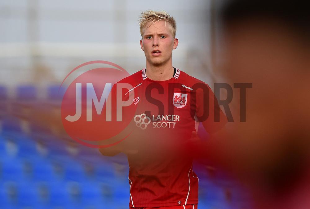Hordur Manusson of Bristol City  - Mandatory by-line: Joe Meredith/JMP - 20/07/2016 - FOOTBALL - Pinatar Arena - San Pedro del Pinatar, Murcia - Granada v Bristol City - Pre-season friendly