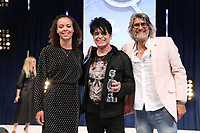 Gary Numan accepts his award during the O2 Silver Clef Awards 2019, Grosvenor House, London, UK, Friday 05 July 2019<br /> Photo JM Enternational