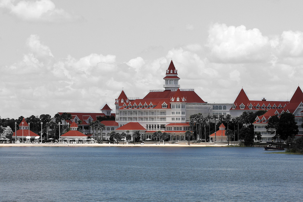 General view of the Grand Floridian Resort and Spa at Walt Disney World.