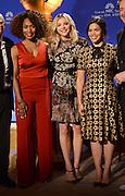 73rd Annual Golden Globe Awards Nominations<br /> <br /> AMERICA FERRERA + CHLOE GRACE MORETZ + ANGELA BASSETT at the 73rd Annual Golden Globe Awards Nominations held @ the Beverly Hilton hotel. December 10, 2015<br /> ©Exclusivepix Media