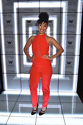 Pearl Mackie at the official launch of The Perception at W London, 10 Wardour Street, London England. 7 November 2017.<br /> Photo by Dominic O'Neill/SilverHub 0203 174 1069 sales@silverhubmedia.com