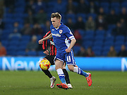 Craig Noone during the Sky Bet Championship match between Cardiff City and Brighton and Hove Albion at the Cardiff City Stadium, Cardiff, Wales on 10 February 2015.