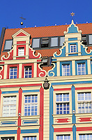 Pologne, région de Silésie, Wroclaw, place du marché // Market square, Wroclaw, Silesia, Poland, Europe