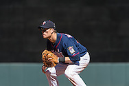 Justin Morneau #33 of the Minnesota Twins prepares for a pitch during a game against the Baltimore Orioles on May 12, 2013 at Target Field in Minneapolis, Minnesota.  The Orioles defeated the Twins 6 to 0.  Photo: Ben Krause
