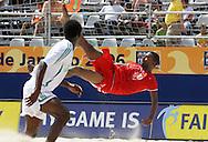 Footbal-FIFA Beach Soccer World Cup 2006 -BHR x NGA - Salem- Rio de Janeiro, Brazil - 01/11/2006.<br />Mandatory Credit: FIFA/Ricardo Ayres