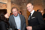 LAUREN KEMP; JOHN WEBSTER;  GARY KEMP, The launch party of HiBrow and A Mighty Big If. ÊThe Crypt. St. Martins in the Fields. London. 24 January 2012<br /> LAUREN KEMP; JOHN WEBSTER;  GARY KEMP, The launch party of HiBrow and A Mighty Big If.  The Crypt. St. Martins in the Fields. London. 24 January 2012