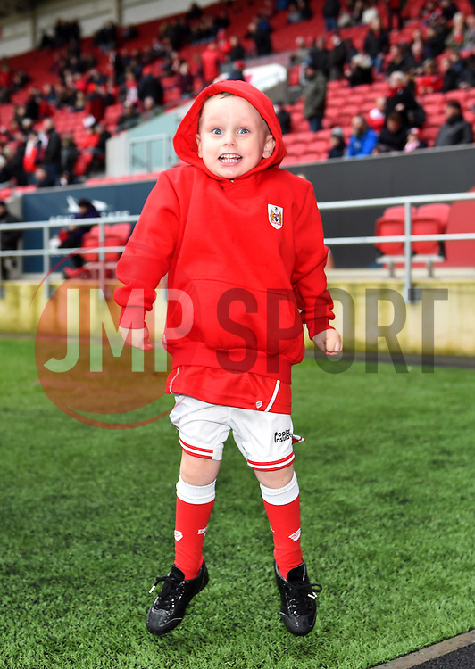 Mascot at Ashton Gate for the Sky Bet Championship game between Bristol City and Burton Albion on 4 March 2017 in Bristol, England - Mandatory by-line: Paul Knight/JMP - 04/03/2017 - FOOTBALL - Ashton Gate - Bristol, England - Bristol City v Burton Albion - Sky Bet Championship