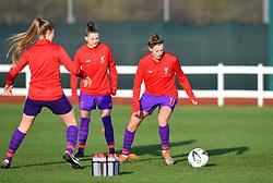 Yana Daniels of Liverpool Women warms-up prior to facing her former club in WSL1 - Mandatory by-line: Paul Knight/JMP - 17/11/2018 - FOOTBALL - Stoke Gifford Stadium - Bristol, England - Bristol City Women v Liverpool Women - FA Women's Super League 1