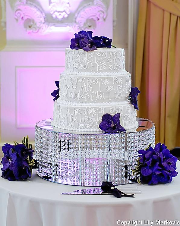 Wedding Cake with poem
