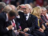 FUSSBALL   1. BUNDESLIGA  SAISON 2016/2017    Jahreshauptversammlung beim FC Bayern Muenchen   25.11.2016 Verwaltungsbeirat Vorsitzender und Aufsichtsrat Dr. Edmund Stoiber (FC Bayern Muenchen)