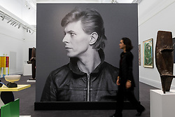 "© Licensed to London News Pictures. 01/11/2016. London, UK. The first look of ""Bowie / Collector"", artworks from the late David Bowie's personal art collection, ahead of their sale later this month at Sotheby's. Photo credit : Stephen Chung/LNP"
