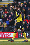 Burton Albion's Darren Bent during the EFL Sky Bet Championship match between Burton Albion and Millwall at the Pirelli Stadium, Burton upon Trent, England on 24 February 2018. Picture by John Potts.