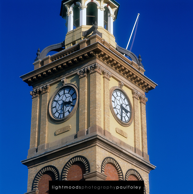 Customs House, Newcastle, NSW, Australia, Clock Tower Detail