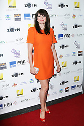 © London News Pictures. Suzi Perry, Zoom Formula 1 Charity Photographic Auction, InterContinental London, London UK, 07 February 2014. Photo credit:  Richard Goldschmidt/LNP