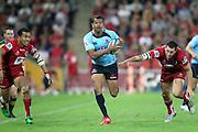 Kurtley Beale. Queensland Reds v NSW Waratahs. Investec Super Rugby Round 10 Match, 24 April 2011. Suncorp Stadium, Brisbane, Australia. Reds won 19-15. Photo: Clay Cross / photosport.co.nz