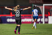 Erin Cuthbert (Chelsea) during the FA Women's Super League match between Brighton and Hove Albion Women and Chelsea at The People's Pension Stadium, Crawley, England on 15 September 2019.