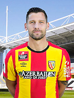 Stephane BESLE - 30.10.2015 - Portrait Officiel - Lens<br /> Photo : RC Lens / Icon Sport