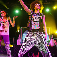 LMFAO kick off the UK leg of the Cherrytree Pop Alternative Tour at Manchester Academy, Manchester, 2012-03-07