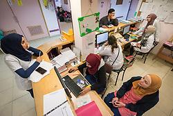 24 February 2020, Jerusalem: Nurses at work in the paediatric ward of the Augusta Victoria Hospital.