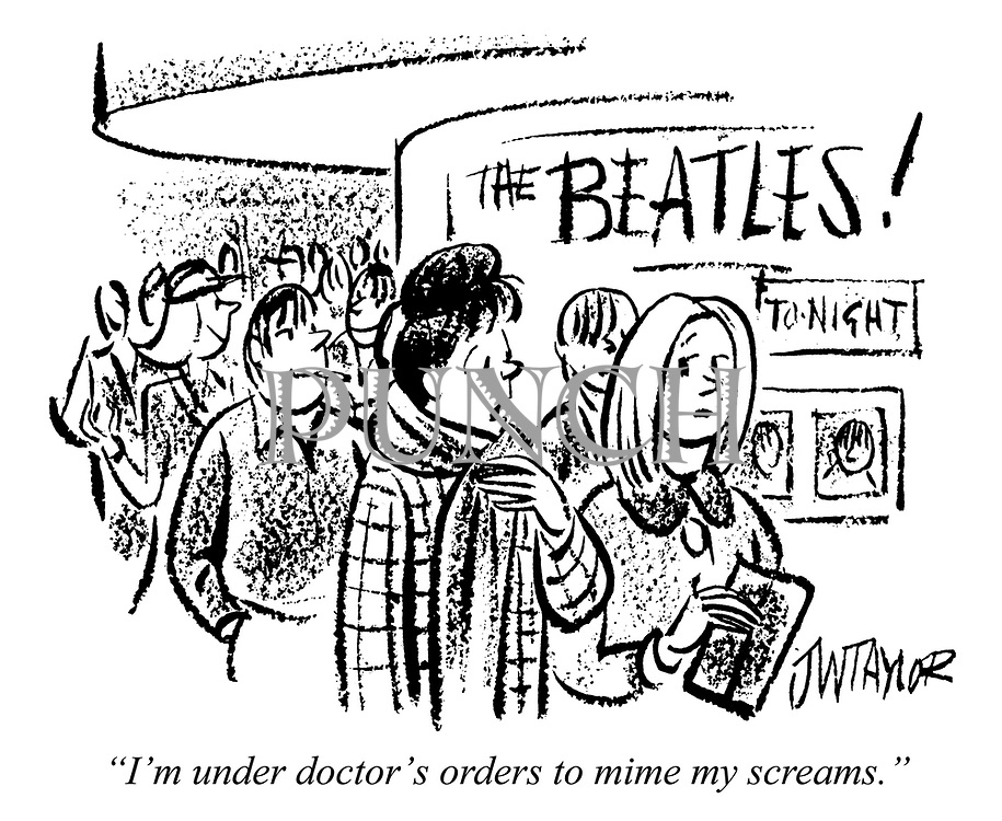 """""""I'm under doctor's orders to mime my screams."""""""