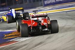 September 18, 2016 - Singapur, Singapur - Motorsports: FIA Formula One World Championship 2016, Grand Prix of Singapore, .#7 Kimi Raikkonen (FIN, Scuderia Ferrari) (Credit Image: © Hoch Zwei via ZUMA Wire)