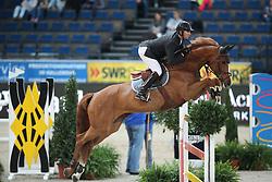 Delaveau Patrice, (FRA), Leontine Ledimar Z HDC<br /> Prize of Raumpflege Jumping<br /> Stuttgart - German Masters 2015<br /> © Hippo Foto - Stefan Lafrentz